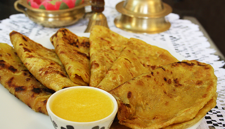 Obbattu is served on ugadi in karnataka it is also popularly known as puran poli in maharastra so impress your guests with a delicious indian sweet recipe forumfinder Choice Image